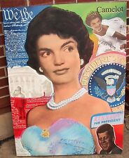 Steve Kaufman - Jackie Kennedy - Historical Presidential Election Art - SIGNED