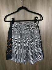 Flow society lacrosse shorts Boys Size Youth Small Genuine Authentic Black White