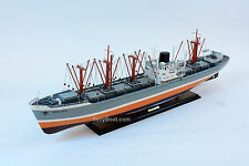 Seine Lloyd Cargo Ship Handmade Wooden Cargo Ship Model 40""