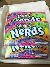 Rainbow Nerds x 3 boxes 141g (American Sweet) ** FREE DELIVERY**