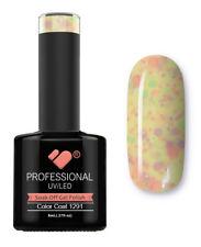 1291 VB Line Yogurt Hot Yellow Neon Glitter - gel nail polish - super gel polish