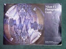 Nikon F2 Photography Guide Book Used