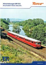 Modelleisenbahn Katalog ROCO Akkutriebwagen BR 515 N neu