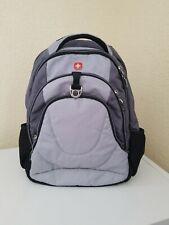 Swiss Gear Airflow Backpack Book Laptop Travel School Computer Black & Gray VGC