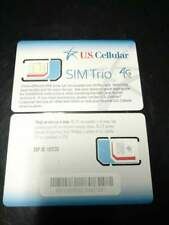 NEW (UNUSED) US Cellular Micro&Nano SIM Card 4G LTE (3 in 1)
