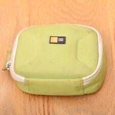 "Case Logic Green Small DigitalCamera Bag 4 1/2"" x 3 1/2"" x 1 1/4"""