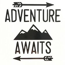 Adventure Awaits Vinyl Decal Sticker