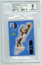 Michael Jordan 1998 Upper Deck Sticker #11 BGS 9