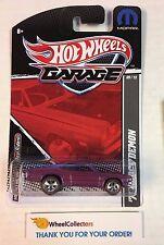 '71 Dodge Demon Purple * Garage Hot Wheels w/ Real Riders * H16