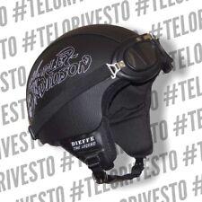 Casco Harley Davidson ecopelle logo Vintage personalizzato in pelle s m l xl