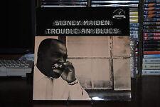 """SIDNEY MAIDEN TROUBLE AU' BLUES LP 33 TOURS 12"""""""