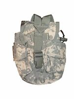 New USGI ARMY Military Surplus ACU MOLLE 1qt Canteen GP Utility Ammo Pouch