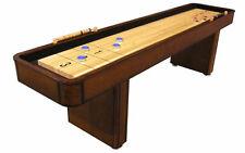 9 Foot Level Best Shuffleboard Table - Mahogany or Chestnut Finish