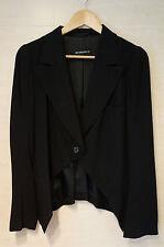 GORGEOUS Ann Demeulemeester Cutaway Front Blazer Jacket MINT