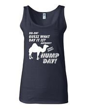 Junior Uh-Oh Guess What Day Is It? Whoot! Whoot! Hump Day! Graphic Tank Top