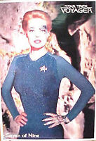 Star Trek Voyager Seven of Nine Poster- Imported from Germany-  Rolled