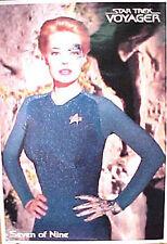Star Trek Voyager Seven of Nine Poster