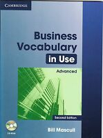 Cambridge BUSINESS VOCABULARY IN USE ADVANCED with CD-ROM Second Edition @NEW@