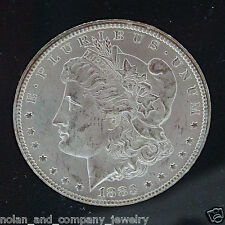 1883 CC Morgan Silver Dollar $1