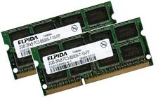 2x 2GB 4GB DDR3 1066 Mhz / 1067 Mhz PC3-8500S SO-DIMM Notebook Apple Speicher