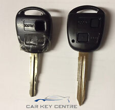 Repair For Toyota 2 button TOY41R Remote Car Key fob New Case Blade MR2 Yaris