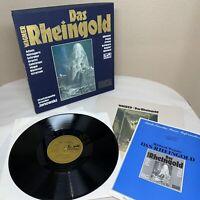 WAGNER: DAS RHEINGOLD 3LP BOX, Staatskapelle Dresden, Janowski, EURODISC 137-445