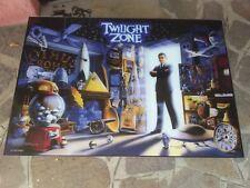 Twilight Zone flipper Machine US Backglass pinball reproduction