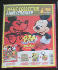 COLLECTOR LE JOURNAL DE MICKEY ANNIVERSAIRE 80 ANS VERSION LUXE / NEUF / BLISTER