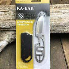Ka-Bar KBD Series Snody Administrator 5Cr15 Skeletonized Neck Knife 5106BP