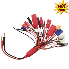 19in1 RC Battery Charger Multi-function Charging Lead Adapter Cable Lead Wire