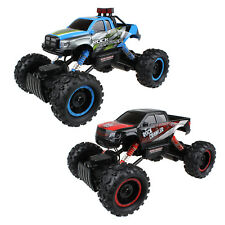 New 2.4G Remote Control 1/14 Off Road 4WD Monster Track Rock Crawler RC Car RTR