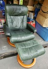 Ekornes Stressless Modern Leather Reclining Chair & Ottoman LOCAL PICK UP