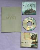 Myst PC Game Windows 95, Instructions and Journal 1996