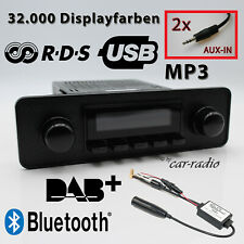 Retrosound Santa Barbara DAB+ Komplettset Black Oldtimer Radio Bluetooth USB MP3