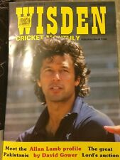 WISDEN CRICKET MONTHLY JUNE 1987 Volume 9 Issue Number 1 VGC