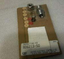 UNITED ELECTRIC SD6213-50 CONNECTOR KIT NEW $39