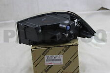 8168160120 Genuine Toyota LENS & BODY, BACK-UP LAMP, LH 81681-60120