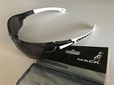 New In Packet Genuine Mack Branded Smoke Lens Anti Fog Safety Glasses UV Safe