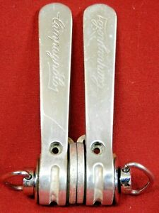 XLNT Vintage 1985 Campagnolo Triomphe Shift Levers Braze-on #0118042-0118043