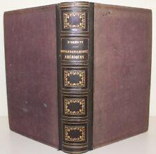 """ORBIGNY """"Voyage dans les deux Amériques"""" Ed. FURNE 1854 relié 28 pl. & 2 cartes"""