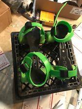 Vintage Italian Gioca Inline Turbo Roller Skates Neon Green Adjustable Rare
