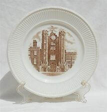 Vintage 1941 Wedgwood Old London Views St James Place 10.5 Inch Dinner Plate