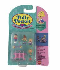 1994 Polly Pocket Babysitting Collection Strollin' Suprise New Dolls Vintage