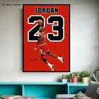Michael Jordan wall art Chicago Bulls Champion Poster Print Canvas Painting new
