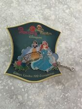 DLP Disneyland Paris Princesses And Pirates Ariel Snow White Pin LE 500