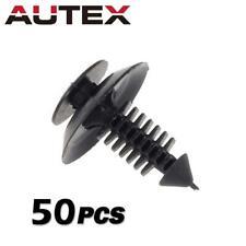 50x Clips Pillar Garnish Taillight Fastener Rivet Retainer For Honda Acura