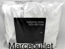 Hudson Park Linea King Duvet Cover Silver