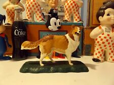 Vintage Bachmann Dogs Of The World Collie Lassie Snap-Fit Model Kit Built up