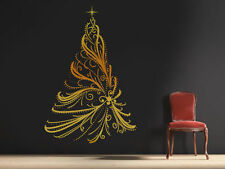 Unbranded Christmas Mural/Pictorial Wall Decals & Stickers