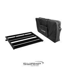 SWAMP Industries - Medium-Large Guitar Effect Pedal Board Bridge with Padded Carry Bag (60 x 39 cm)